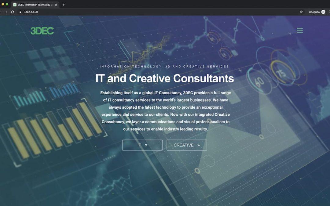 3DEC Website Launches, Celebrating 2019!!